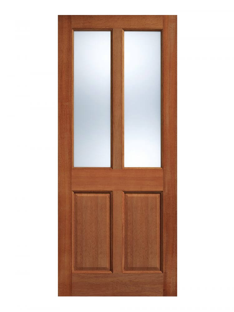 Malton hardwood glazed external door for Hardwood entrance doors