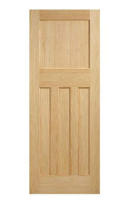 LPD 1930's Clear Pine 4 Panel Internal DoorLPD 1930's Clear Pine 4 Panel Internal Door