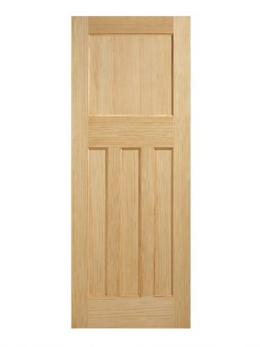 LPD 1930's Clear Pine 4 Panel Internal Door
