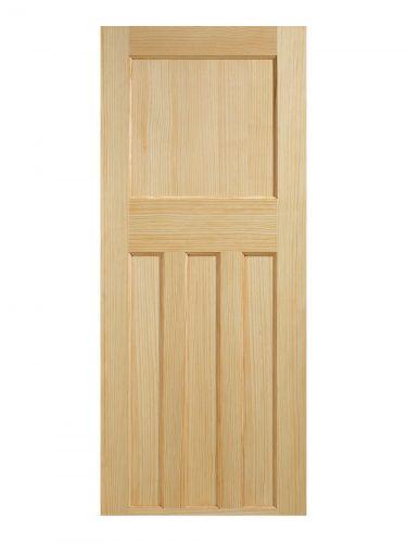 1930's Clear Pine 4 Panel Internal Door