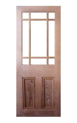 LPD Victorian Pitch Pine Unglazed Vestibule DoorLPD Victorian Pitch Pine Unglazed Vestibule Door