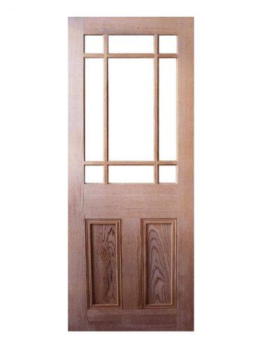 Victorian Pitch Pine Vestibule Unglazed Internal Door