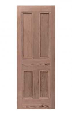 LPD Victorian Pitch Pine Four Panel Internal Door