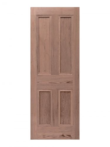 Victorian Pitch Pine Four Panel Internal Door