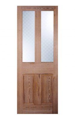 LPD Victorian Pitch Pine Four Panel Internal Glazed DoorLPD Victorian Pitch Pine Four Panel Internal Glazed Door