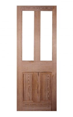 Victorian Pitch Pine Four Panel Unglazed Internal Door
