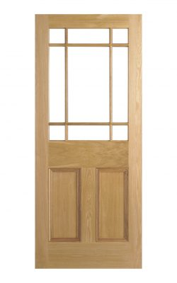 LPD Victorian Oak Downham Unglazed Vestibule DoorLPD Victorian Oak Downham Unglazed Vestibule Door