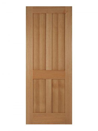Victorian Oak Four Panel Shaker Internal Door