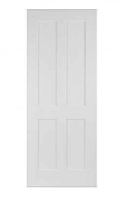 Victorian Oak Four Panel Shaker Primed Internal Door