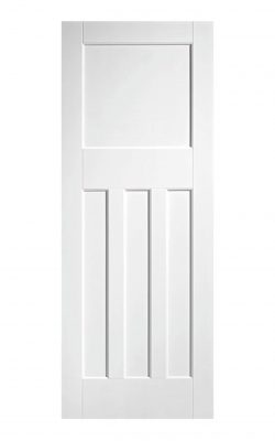 1930's Pine 4 Panel White Primed Internal Door