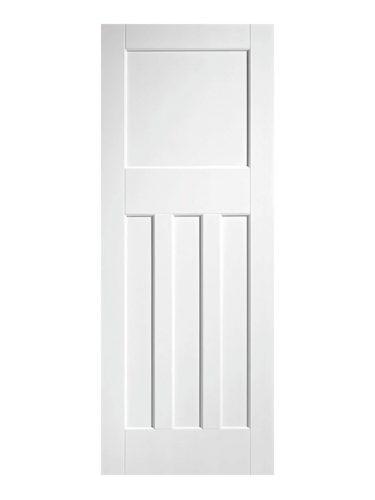 1930's Oak 4 Panel Primed Internal Door