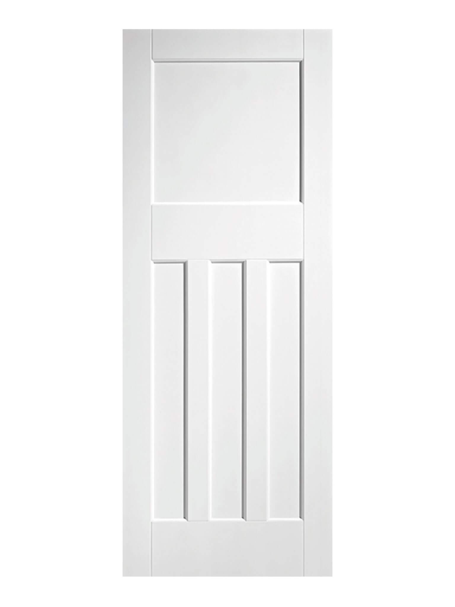 finest selection 1ac48 bf755 LPD 1930's style 4 Panel White Primed Internal Door