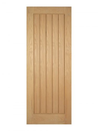 LPD Unfinished Oak Mexicano FD30 Fire Door - Imperial Size