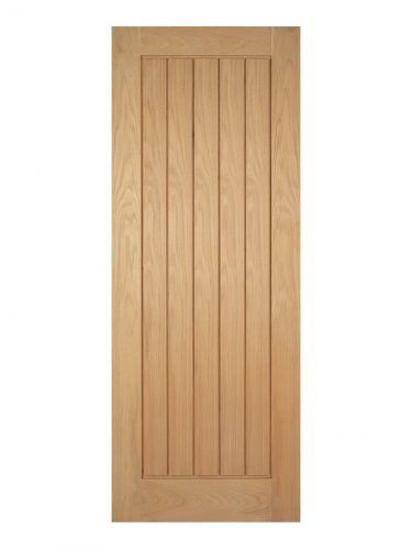 Pre-Finished Oak Mexicano Internal Fire Door - Imperial Size