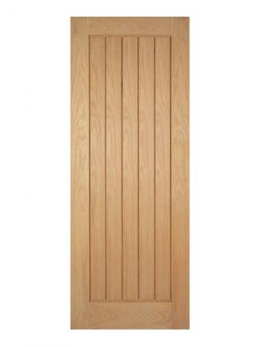 Pre-Finished Oak Mexicano Internal Fire Door - Imperial Size