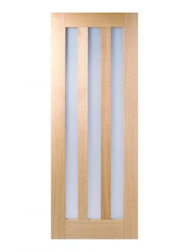Pre-finished Oak Glazed Utah Internal Door