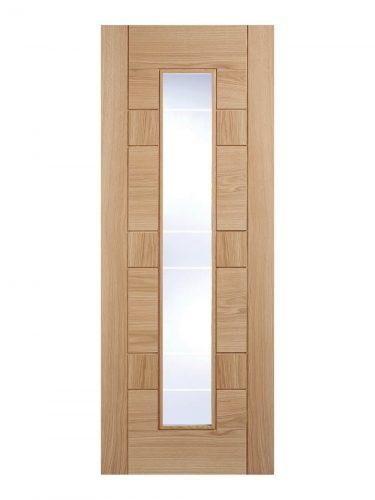 Pre-Finished Oak Edmonton Internal Glazed Door