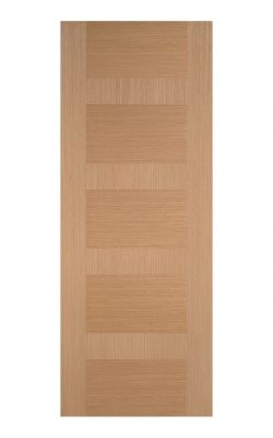 Pre-Finished Oak Monaco Internal Door - Imperial Size