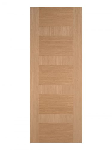 Pre-Finished Oak Monaco Internal Door - Imperial Size