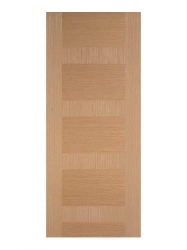 Pre-Finished Oak Monaco Internal Door - Metric Size