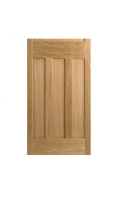 LPD 1930's Oak 4 Panel Internal Unglazed Door