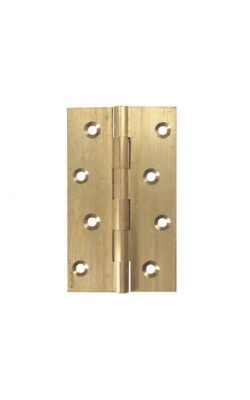 "4"" Solid Brass Hinge (102mm x 60mm)"