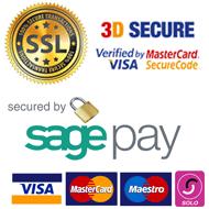Payment Methods - Visa, Mastercard, SagePay