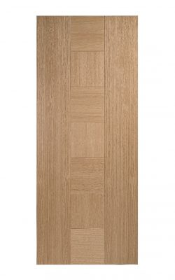 Catalonia Internal Fire Door Oak-Metric