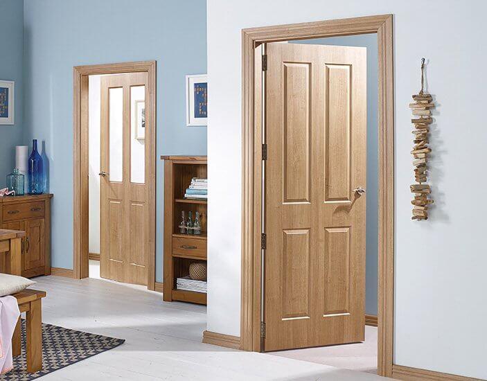 2 Timber Doors