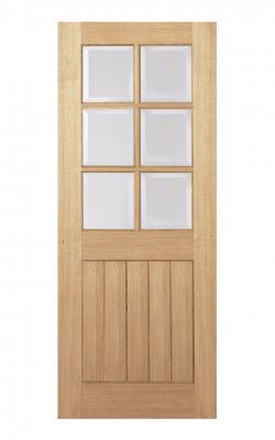 LPD Oak Mexicano Unfinished 6 Light Internal Glazed Door - ImperialLPD Oak Mexicano Unfinished 6 Light Internal Glazed Door - Imperial