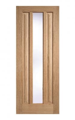 LPD Oak Kilburn Unfinished 1 Light Internal Glazed Door - ImperialLPD Oak Kilburn Unfinished 1 Light Internal Glazed Door - Imperial