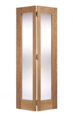 LPD Oak Contemporary Pattern 10 Bi-Fold Internal Glazed DoorLPD Oak Contemporary Pattern 10 Bi-Fold Internal Glazed Door