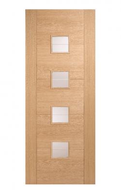LPD Oak Vancouver 4 Light Small Internal Glazed Door - ImperialLPD Oak Vancouver 4 Light Small Internal Glazed Door - Imperial