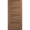 LPD Walnut Vancouver 5 Panel FD30 Fire Door - Metric