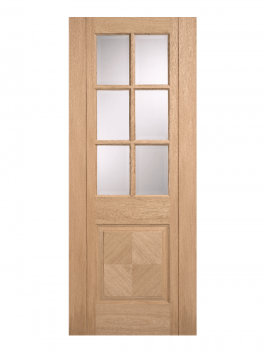 LPD Oak Barcelona 6 Light Internal Glazed Door - Imperial