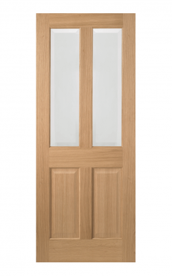 LPD Oak Richmond 2 Light Internal Glazed Door - ImperialLPD Oak Richmond 2 Light Internal Glazed Door - Metric