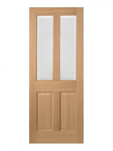 LPD Oak Richmond 2 Light Internal Glazed Door - Imperial