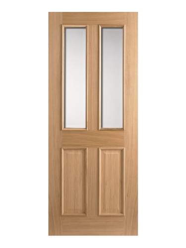 Oak Richmond RM2S Glazed 2-Light Internal Standard Doo