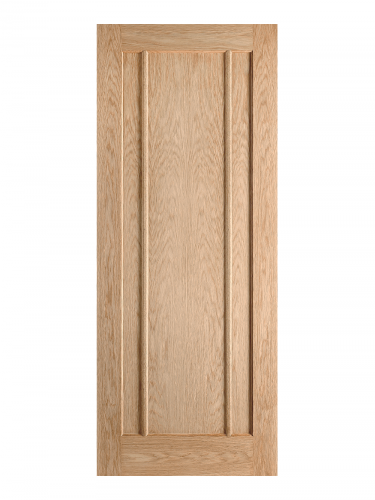 LPD Oak Lincoln Pre-Finished FD30 Fire Door - Imperial