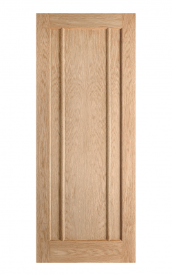 LPD Oak Lincoln Unfinished Internal Door - MetricLPD Oak Lincoln Unfinished Internal Door - Metric