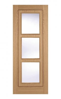 LPD Oak Inlay 3 Light Internal Glazed Door - ImperialLPD Oak Inlay 3 Light Internal Glazed Door - Imperial