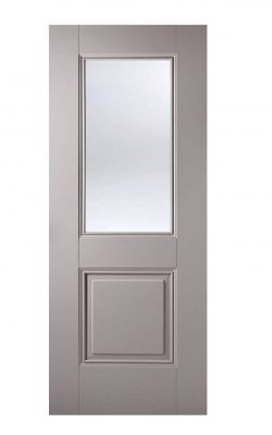 grey arnhem 1-light glazed door imperial