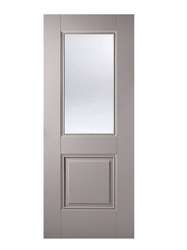 grey arnhem 1-light glazed door imperial