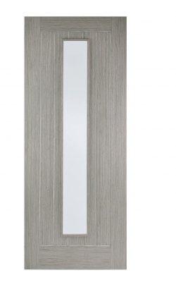 Light Grey Somerset 1-Light Glazed