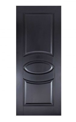 LPD Black Versailles FD30 Fire DoorLPD Black Versailles FD30 Fire Door