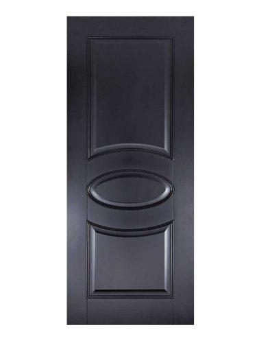 Black Versailles FD30 Fire Door
