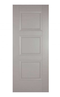 Grey Amsterdam FD30 Fire Door