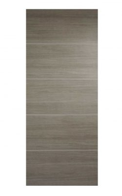 Light Grey Laminated Santandor FD30 Fire Door