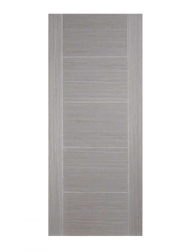 Light Grey Vancouver 5P FD30 Fire Door - Metric