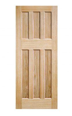 LPD Oak DX 60s Style FD30 Fire DoorLPD Oak DX 60s Style FD30 Fire Door
